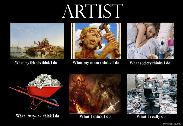 artist artist jpg (720×498) art education memes pinterest female,Funny Artist Memes