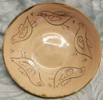 Bird bowl. 14cm across, by 3.5cm high. £10, postage to Uk £2.85